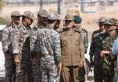 ارزیابی مثبت فرمانده کل ارتش از عملکرد  پدافند نیروگاه اتمی بوشهر / اجرای عملیات واکنش سریع جنگندههای آلرت در خلیج فارس