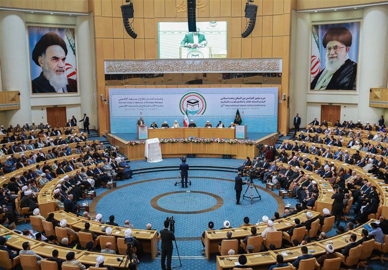 انطلاق فعالیات المؤتمر الثالث والثلاثین للوحدة الإسلامیة فی طهران