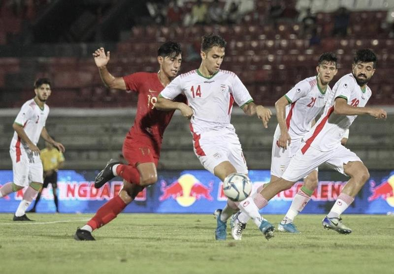 Iran U-23 Football Team Loses to Indonesia