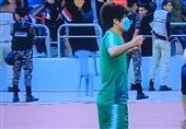 حرکت اعتراضی بازیکن تیم ملی عراق پس از گلزنی به ایران/ AFC واکنشی نشان میدهد؟