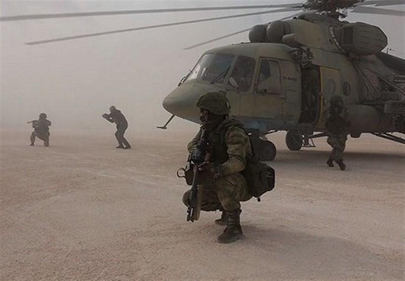 کنترل نظامیان روسیه بر فرودگاه نظامی آمریکا در شمال سوریه+فیلم