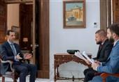 اسد: تروریسم نمیتواند رابطه من با مردم را تغییر دهد/داعش با اراده آمریکا وارد سوریه شد