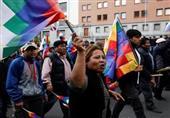 تظاهرات هزاران نفر از مردم بولیوی علیه دولت موقت+فیلم