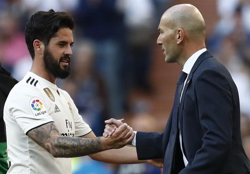 پافشاری زیدان برای حفظ ایسکو در رئال مادرید