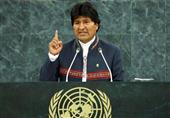مورالس برای حل بحران بولیوی از سازمان ملل کمک خواست