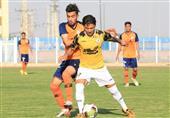 لیگ دسته اول فوتبال| شکست سنگین خوشه طلایی مقابل استقلال خوزستان
