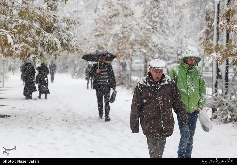 بارش سنگین برف و باران در راه کرمان؛ کاهش 5 تا 10 درجهای دمای هوا