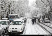 نخستین بارش برف پاییزی اصفهان را سفیدپوش کرد؛ مدارس استان اصفهان امروز به دلیل برودت هوا تعطیل شد