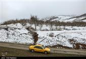 برف در جادههای شمال/ باران در محورهای 9 استان