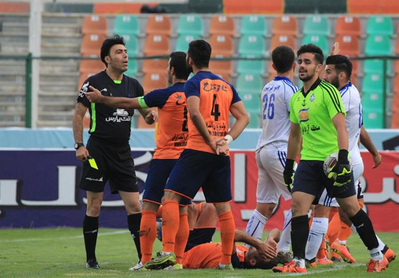 اسامی داوران هفته پانزدهم لیگ دسته اول فوتبال اعلام شد
