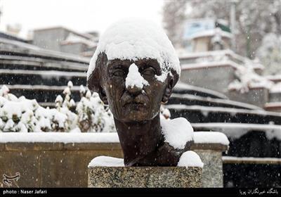 تہران میں موسم کی پہلی برفباری