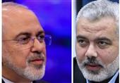 Iranian FM, Hamas Leader Discuss Gaza Developments
