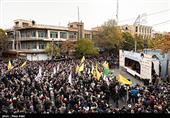 مردم علیه اشرار|پاسخ قاطع مردم به اغتشاشگران در راهپیمایی باشکوه اردبیلیها + فیلم
