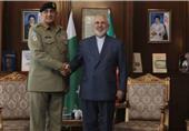 دیدار فرمانده ارتش پاکستان با ظریف