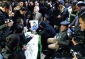 وداع کم نظیر مردم تهران با پیکر شهدای مدافع امنیت+عکس و فیلم