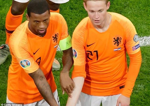 تیم ملی فوتبال هلند , یورو 2020 ,