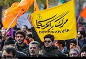 راهپیمایی باشکوه مردم کرمان علیه اغتشاشگران / محکومیت اقدامات آشوبگرانه اشرار و بدخواهان نظام + فیلم