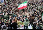 تشییع پیکر شهید امنیت مرتضی ابراهیمی-شهریار