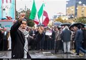 حماسهای به یادماندنی در راهپیمایی مردم کرمان / اعلام انزجار مردم از هنجارشکنان + تصاویر