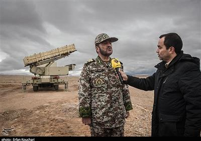 Commander Warns against Violation of Iran's Airspace