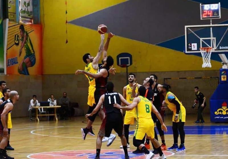 لیگ برتر بسکتبال  رویارویی مهرام و گرگان در آزادی