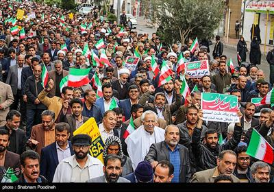 Iranians Hold Countrywide Rallies to Support Iran Security