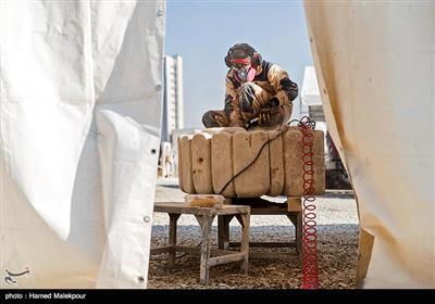 International Sculpture Symposium Underway in Iranian Capital