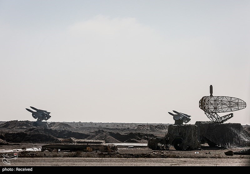Iranian Forces Stage Final Phase of Air Defense Drills