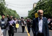 برگزاری راهپیمایی نمازگزاران تهرانی در محکومیت اغتشاشات اخیر