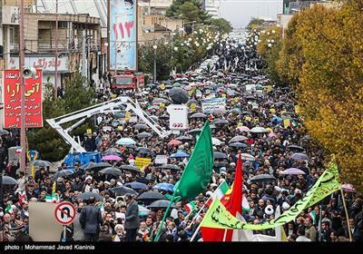 اسلامی جمہوری ایران کے صوبہ کرمان میں شرپسندوں کے خلاف مظاہروں کی تصویری رپورٹ