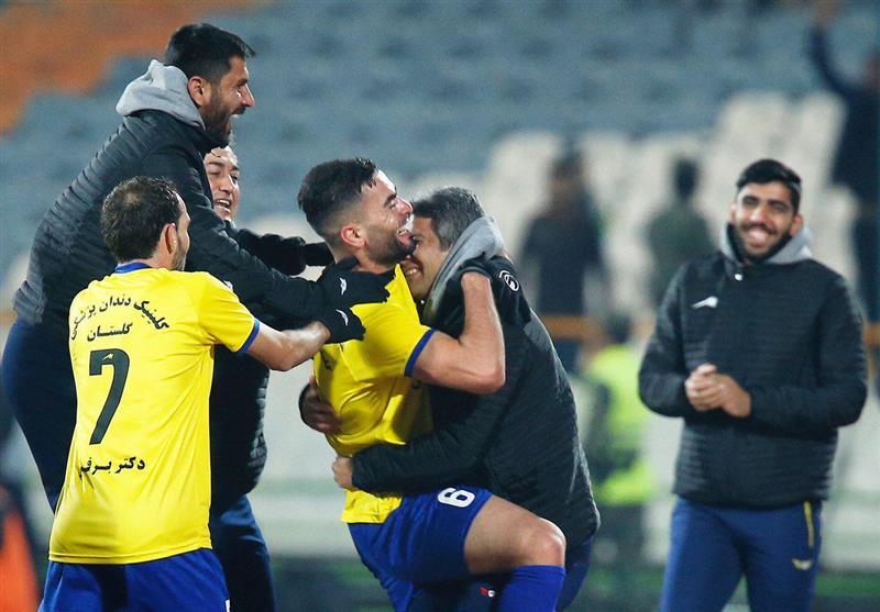 علیزاده: دیدار پرسپولیس - نفت مسجدسلیمان یکی از بهترین بازیهای فصل بود/ سوشا عالی بازی کرد