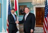 دیدار پامپئو و وزیر خارجه امارات در واشنگتن