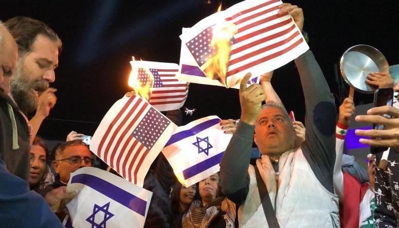 کشور آمریکا , رژیم صهیونیستی (اسرائیل) , حزب الله لبنان , لبنان ,