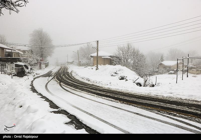 پیشبینی بارش برف در جادههای غربی کشور