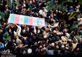 پیکر پاک شهید امنیت در باغملک تشییع میشود