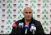منصوریان در نشست خبری بعد از بازی با نفت مسجدسلیمان شرکت نکرد
