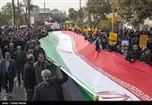 راهپیمایی باشکوه یزدیها در محکومیت اغتشاشات اخیر / مشت محکم مردم بر دهان آشوبگران + فیلم