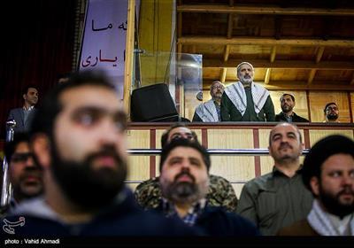 سردار یزدی فرمانده سپاه محمد رسول الله (ص) تهران بزرگ در مراسم اجتماع گردان های بسیج شهرداری تهران