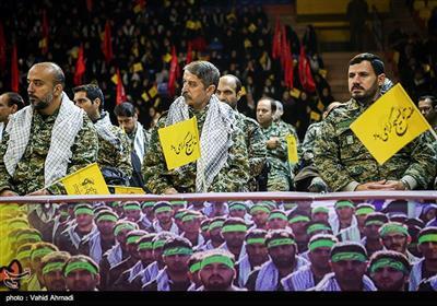 اجتماع بسیجیان شهرداری تهران