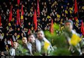 اجتماع 10 هزار نفری بسیجیان در شهرکرد برگزار شد