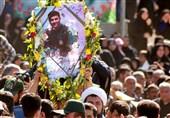 آیین بزرگداشت شهید مدافع امنیت خوزستان برگزار شد + تصویر
