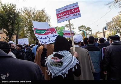 راهپیمایی حمایت از اقتدار و امنیت - یزد