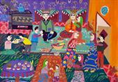 کودکان ایرانی برگزیده مسابقه نقاشی محیط زیست ژاپن شدند