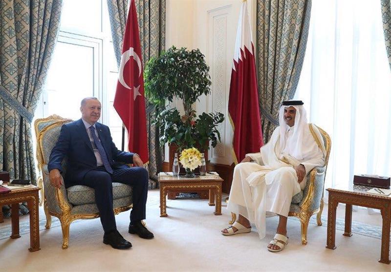 گفتوگوی تلفنی اردوغان و امیر قطر