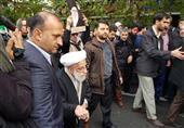 آیتالله جنتی در جمع راهپیمایان تهرانی حاضر شد