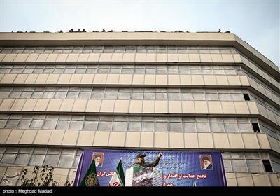 سخنرانی سرلشکر حسین سلامی فرمانده کل سپاه در راهپیمایی حمایت از اقتدار و امنیت - تهران
