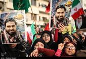 ماجرای حضور خانواده شهدای مدافع حرم در راهپیمایی 4 آذرماه