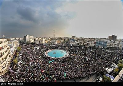 راهپیمایی حمایت از اقتدار و امنیت در تهران