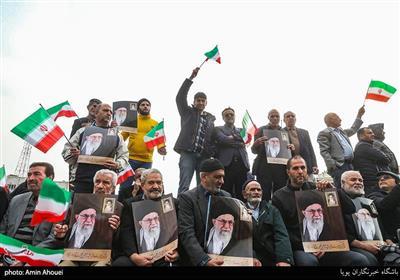 راهپیمایی حمایت از اقتدار و امنیت - تهران