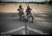تمرین عملیات جنگ شهری توسط یگان ویژه فاتحین